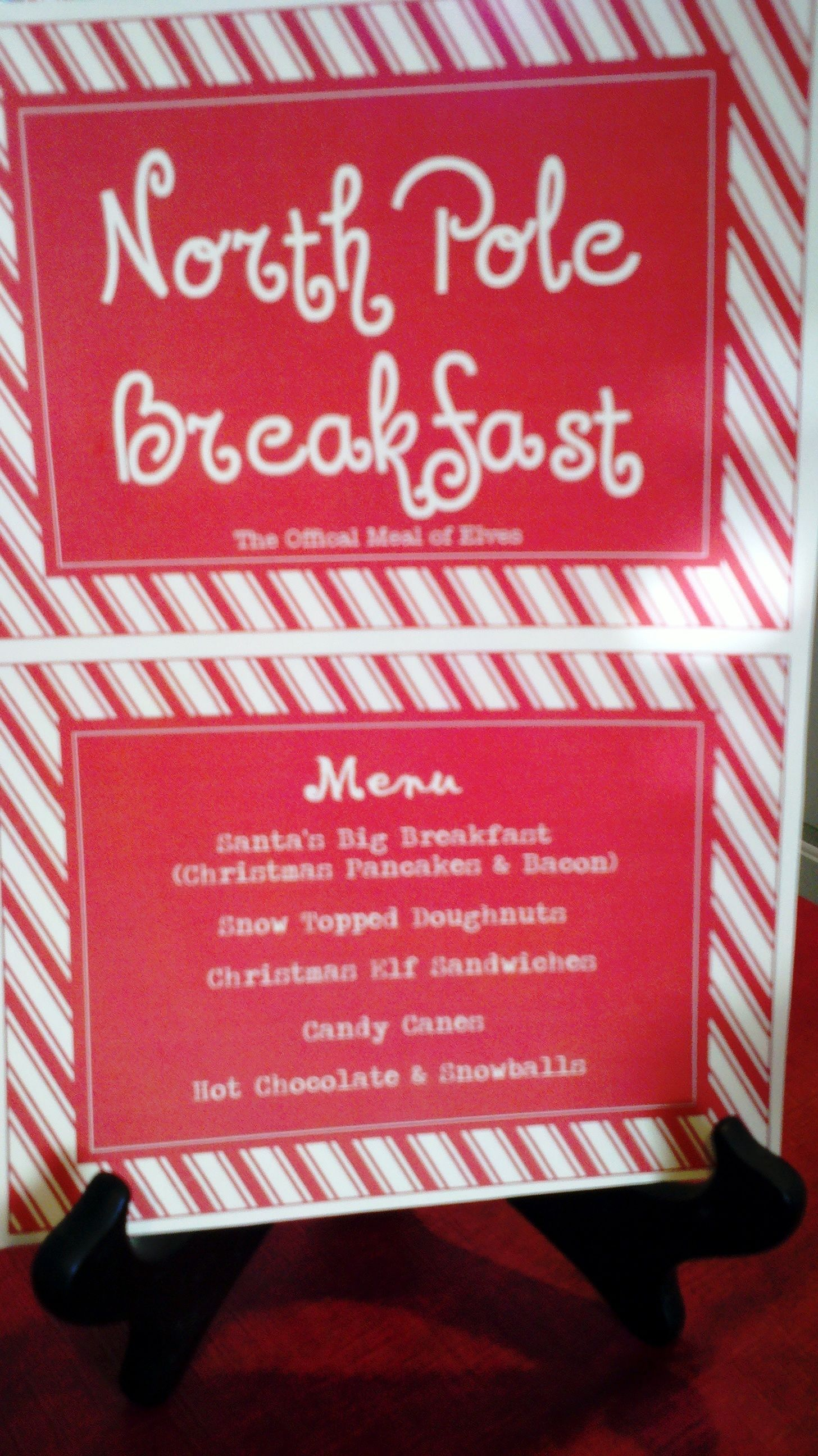 Introducing Tinsel The Elf & Our 1st Annual North Pole Breakfast