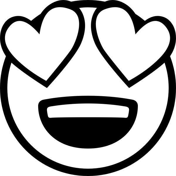 ausmalbilder emoji herz 932842394853 herz heart love
