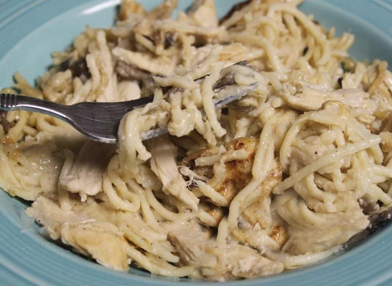 CHICKEN OR TURKEY TETRAZZINI - this is from GH cookbook.  Remember to reduce the salt if using cooking sherry instead of dry sherry!