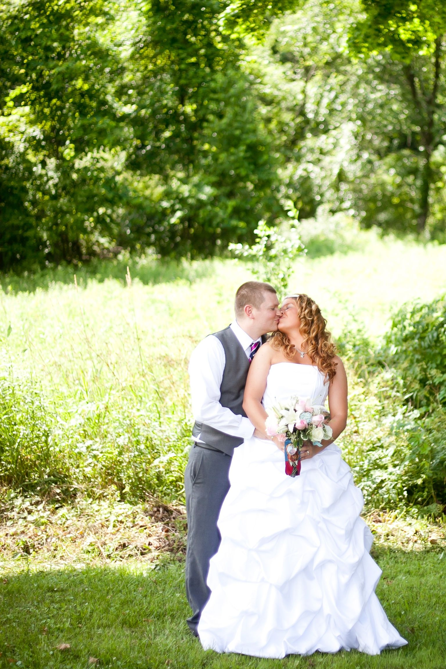 Bride + Groom PA Wedding