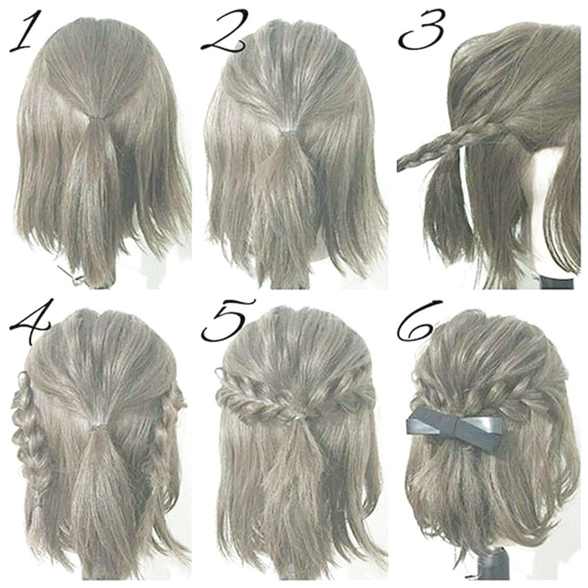 Must Have 210 Hairstyles Diy And Tutorial For All Hair Lengths Fashion Check More At Dressfitme Com Braid Simple Prom Hair Short Hair Hacks Hair Tutorial
