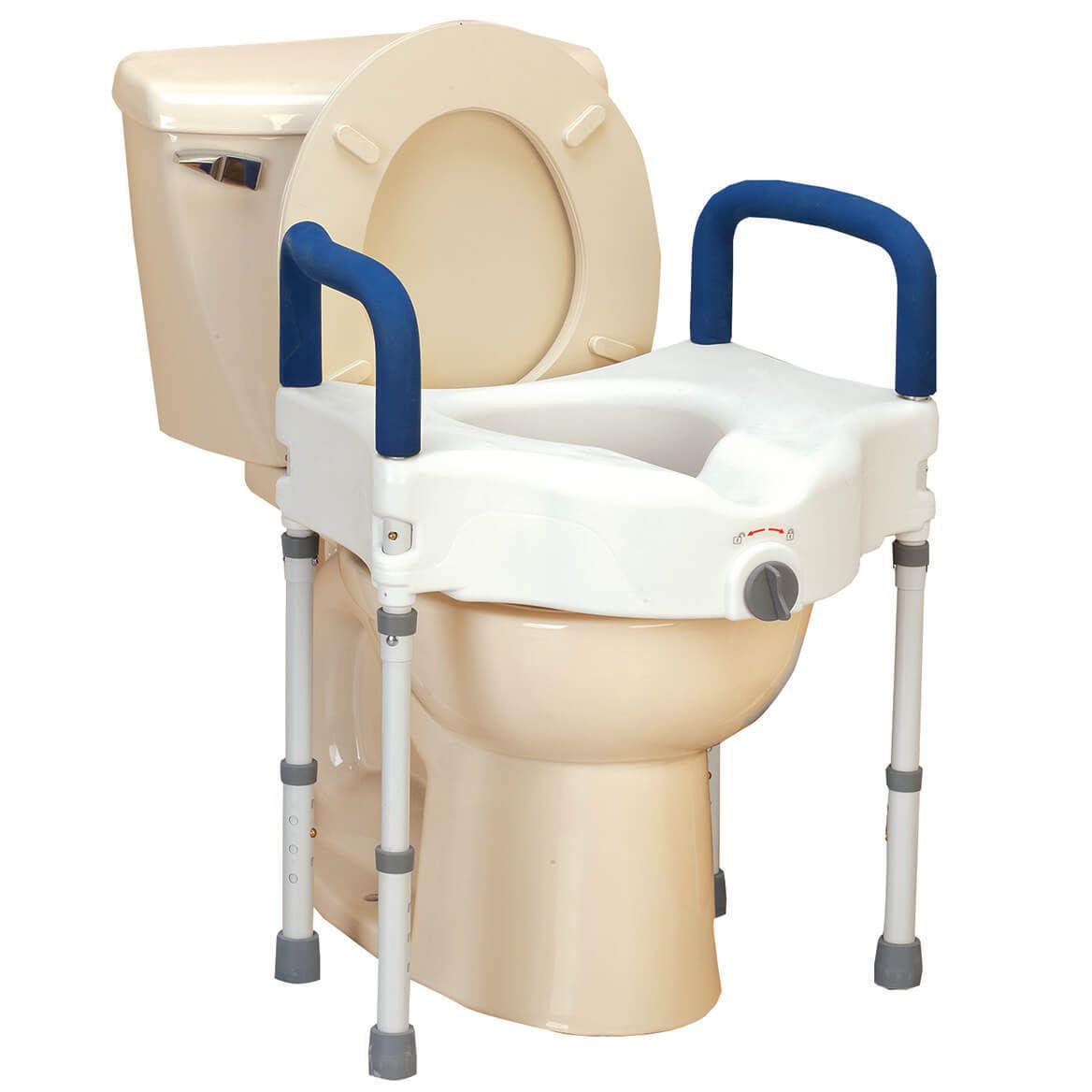 Bariatric Raised Toilet Seat With Arms Toilet Seats 171540