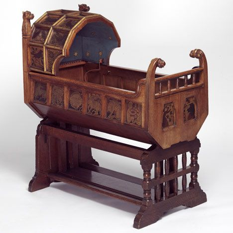 Cradle Designed By Richard Norman Shaw, C.1861