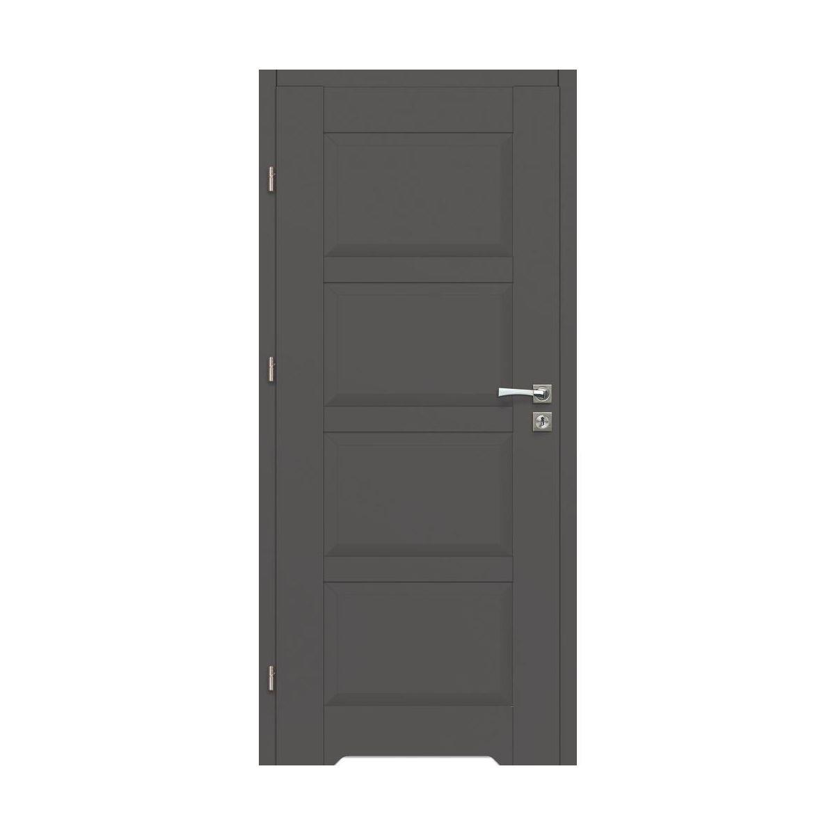 Skrzydlo Drzwiowe Lido Grafit 80 Lewe Artens Drzwi Wewnetrzne W Atrakcyjnej Cenie W Sklepach Leroy Merlin Tall Cabinet Storage Locker Storage Storage