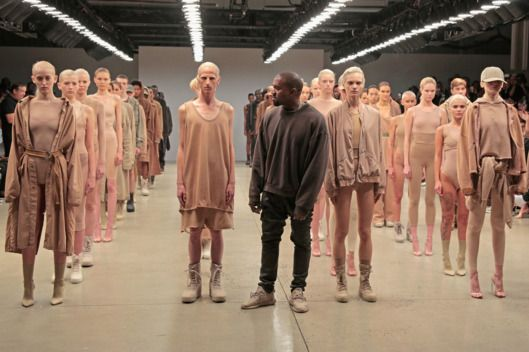 Kanye West Is Fooling The Fashion World Yeezy Fashion Show Kanye West Style Kanye Fashion