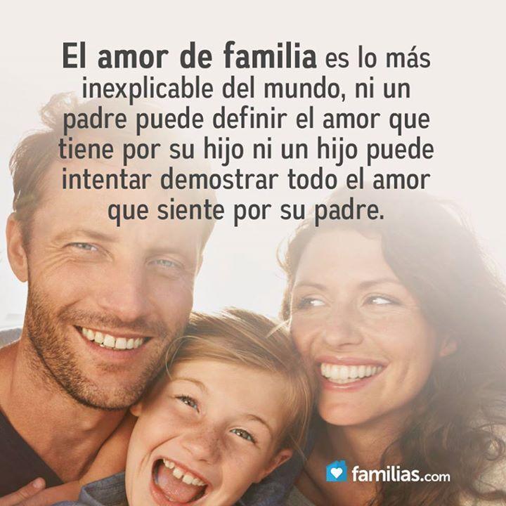 Amo a mi familia con todo el corazón