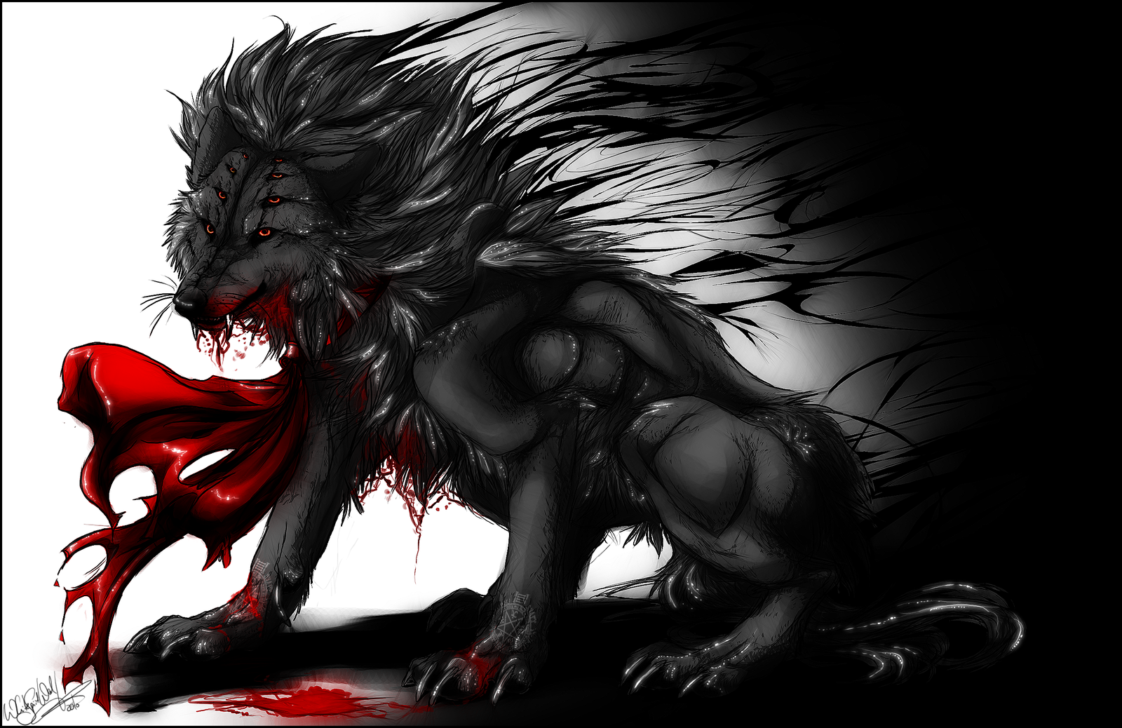 Female evil demon wolf fucking movies