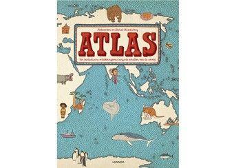 Anthropolgie Kids Atlas Book