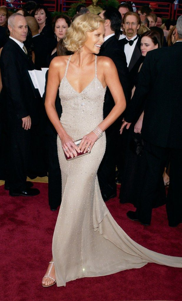 Pin by Nighover Fashion on Charlize Theron | Oscars red ...