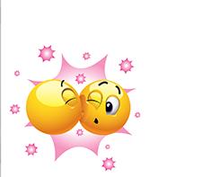 Emoticone Facebook Bisous Png 225 197 Smiley Emoticon Emoji Love