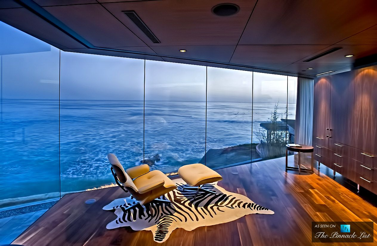 Lemperle glass house residence 5672 dolphin place san - 4 bedroom house for sale san diego ...