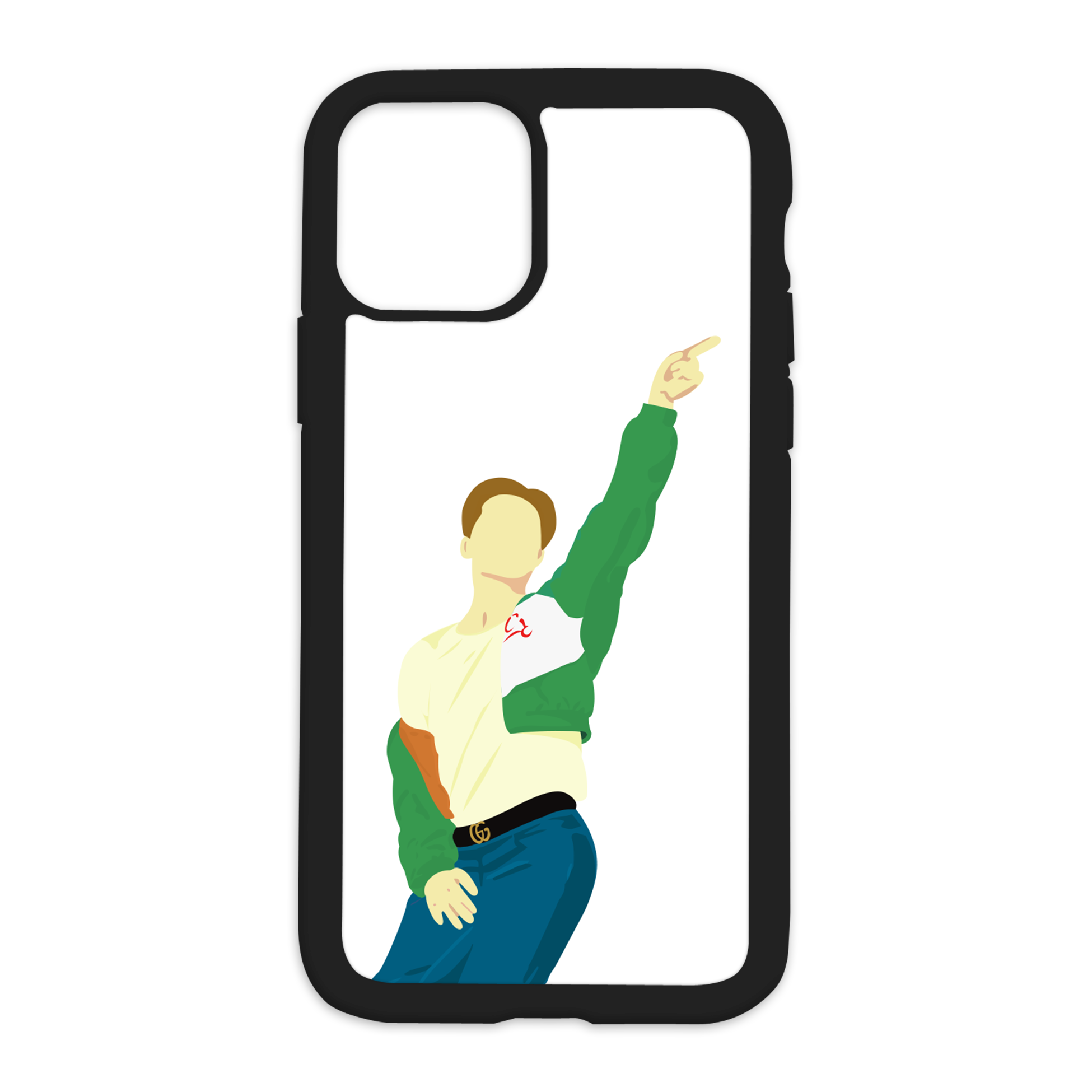 Jimin Dynamite Design On Black Phone Case - 6/6s+