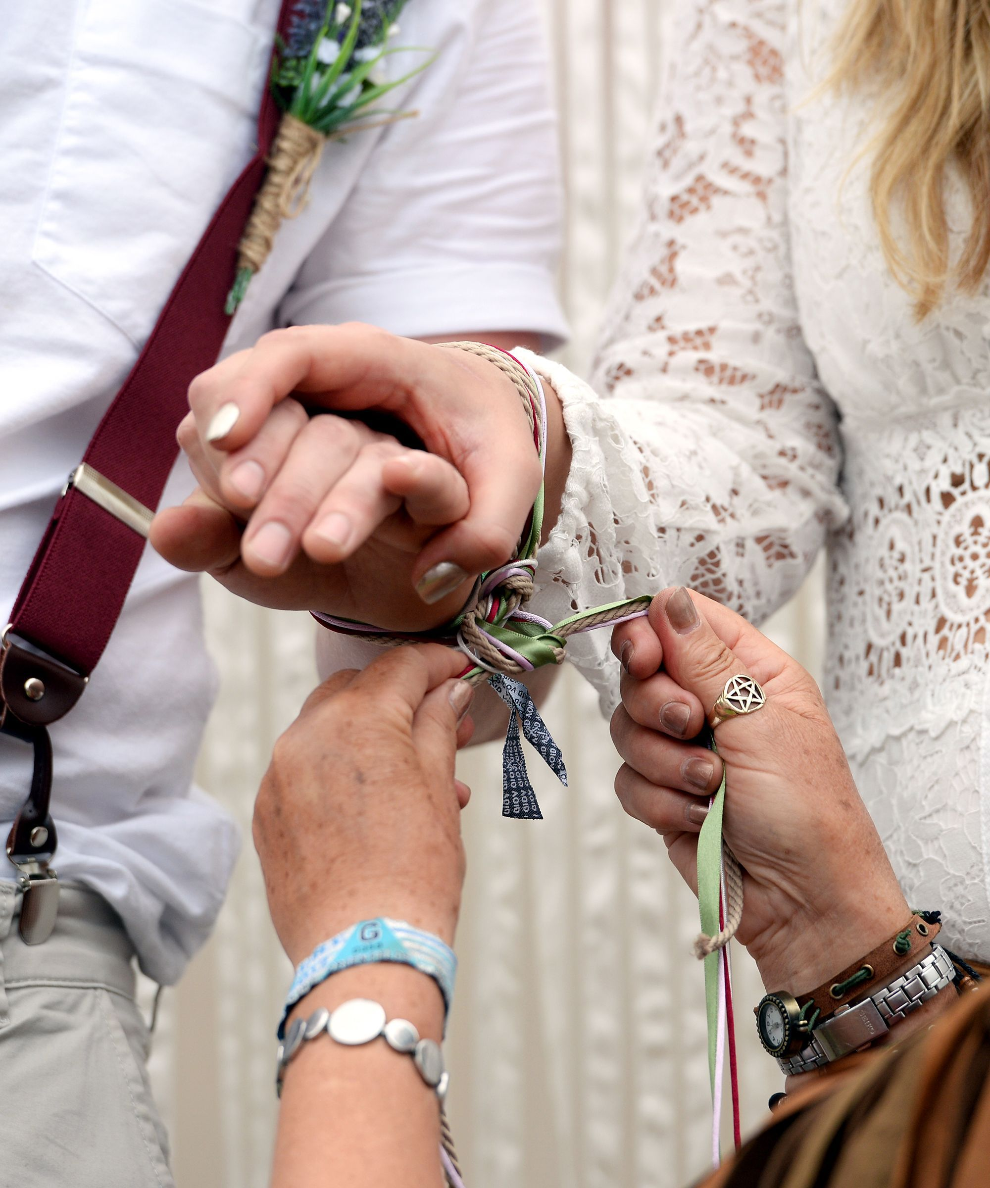 Inside Handfasting, The Deeply Symbolic Wedding Ceremony