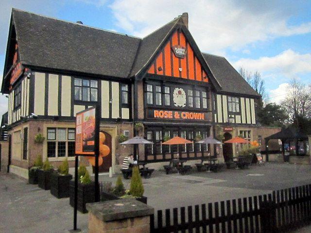 Rose & Crown Pub, Derby Road, Nottingham (C) Roy Hughes :: Geograph Britain  and Ireland | Nottingham pubs, Nottingham, Old pub
