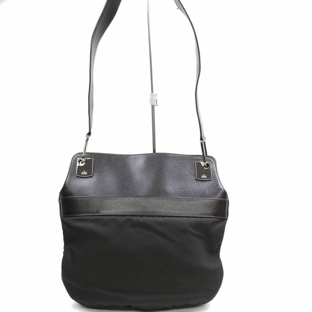 55870ec6f28 Authentic Gucci Shoulder Bag Black Nylon 264611  fashion  clothing  shoes   accessories  womensbagshandbags (ebay link)