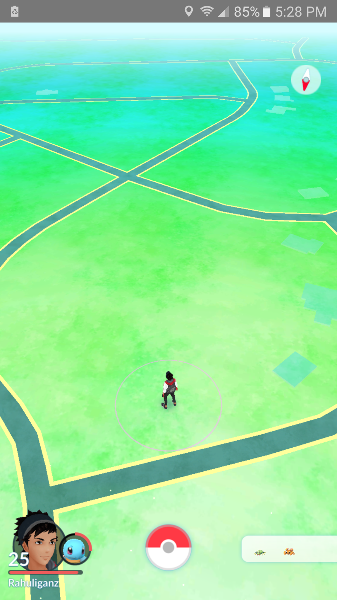 Screenshot the sadness of returning from college pokemongo