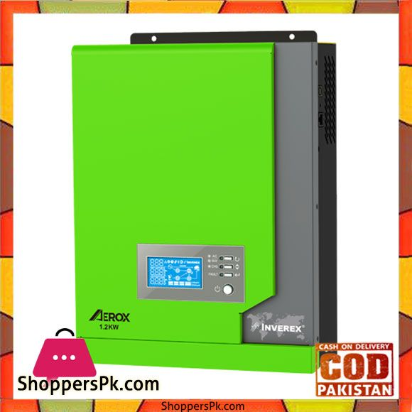 Buy Inverex Aerox 1 2 Kw Solar Inverter Karachi Only At Best Price In Pakistan Solar Inverter Solar Charger Solar