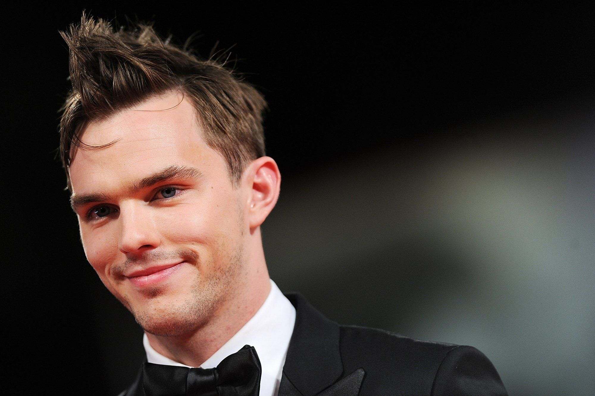 Boy hairstyle status nicholas houltus first love  nicholas hoult and films