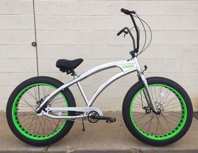 CUSTOM FAT TIRE BEACH CRUISER , FAT TIRE BIKE | Custom Alloy Fat ...