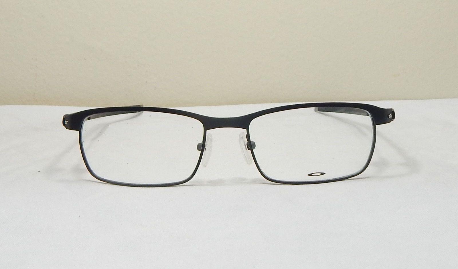 Oakley Men Prescription Eyeglasses Frame: Tincup - Power Coal : 52mm ...