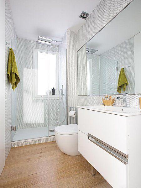 alicatado blanco baño - Buscar con Google | Suelos baños ...