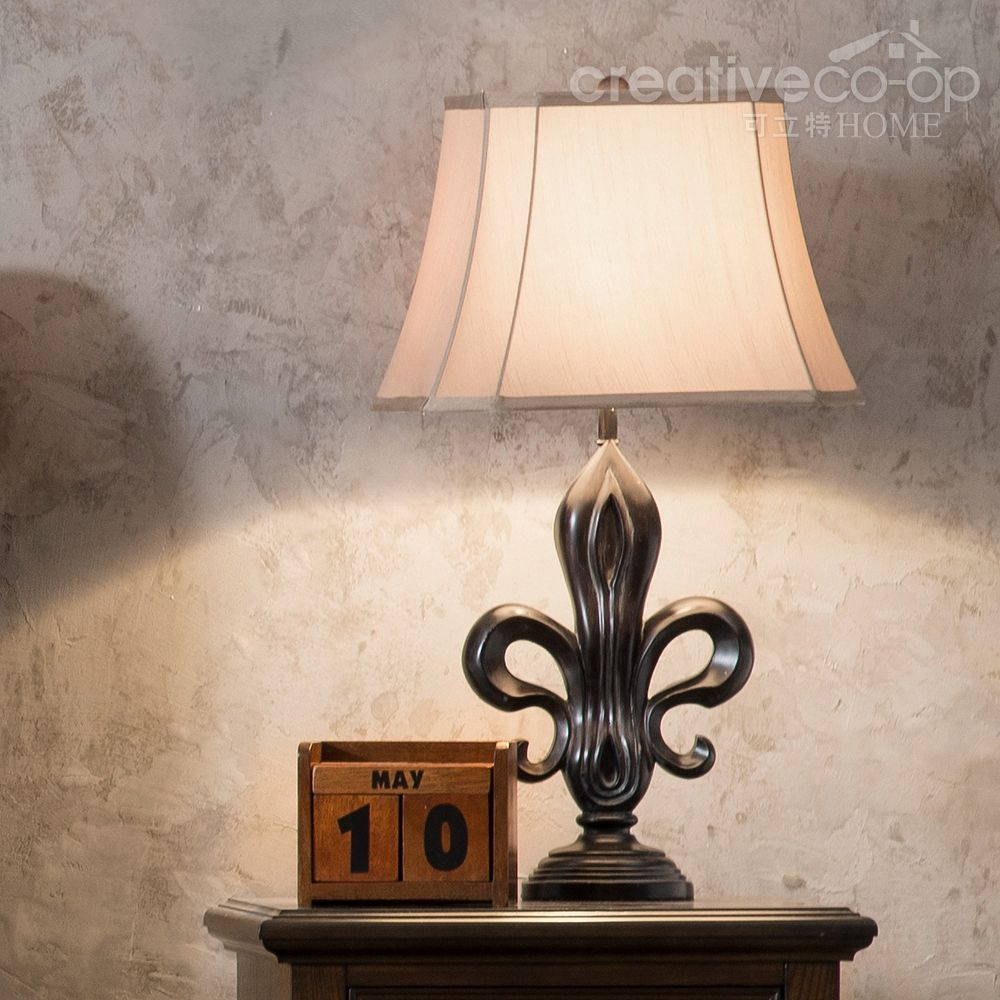 Fleur de lis table lamp creative co op home lamps pinterest fleur de lis table lamp creative co op home aloadofball Choice Image