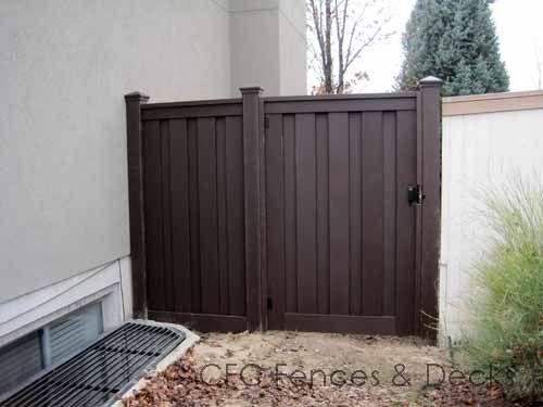 Trex Fencing Standard Gate Trex Fencing Trex Gates Backyard Fences