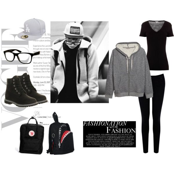 EXO Chanyeol Airport Fashion Inspired Outfit by nanrelladu on Polyvore featuring polyvore ...
