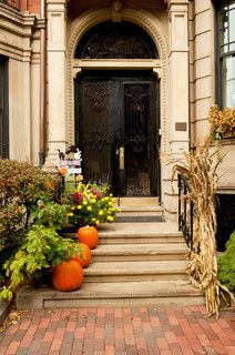 Autumn/Halloween Decor - traditional - entry - boston - by Mary Prince