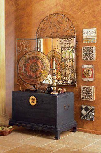 Home Decorating Ideas Moroccan Style Bedroom Home Decorating Ideas: Moroccan Decor #entryway Hall, Corridor, Entrance Décor, #decorating Lobby Design, Console
