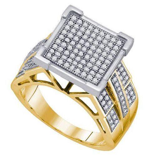 1/2CT-Diamond MICRO-PAVE RING