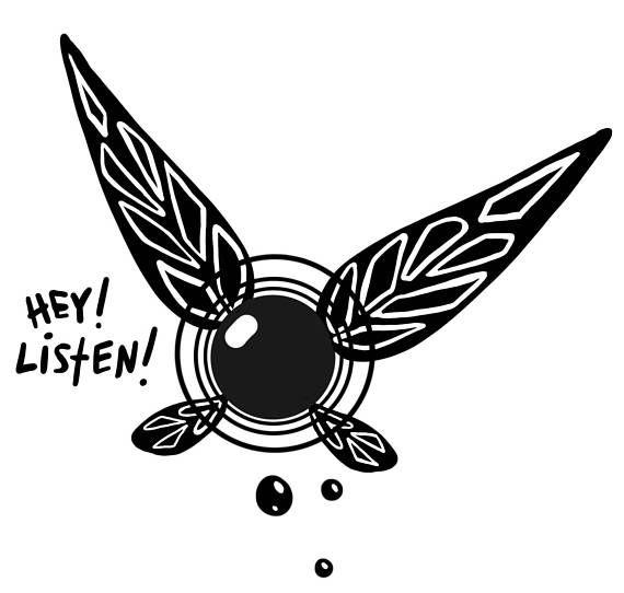 Navi Bumper Sticker - Vinyl Decal - Bumpersticker - Legend of Zelda ...