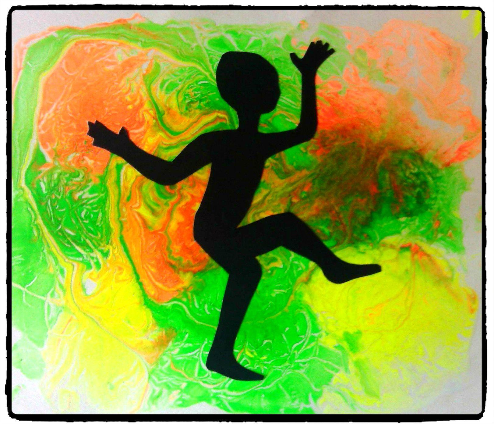 bricolage afrique danse petit africain peinture fluo afrique pinterest fluo afrique et. Black Bedroom Furniture Sets. Home Design Ideas