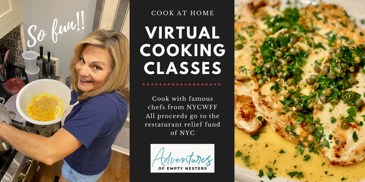 Hey Food Lovers The Virtual Cooking Classes By Nycwff Are Fantastic Cooking Classes Food Lover Wine And Food Festival