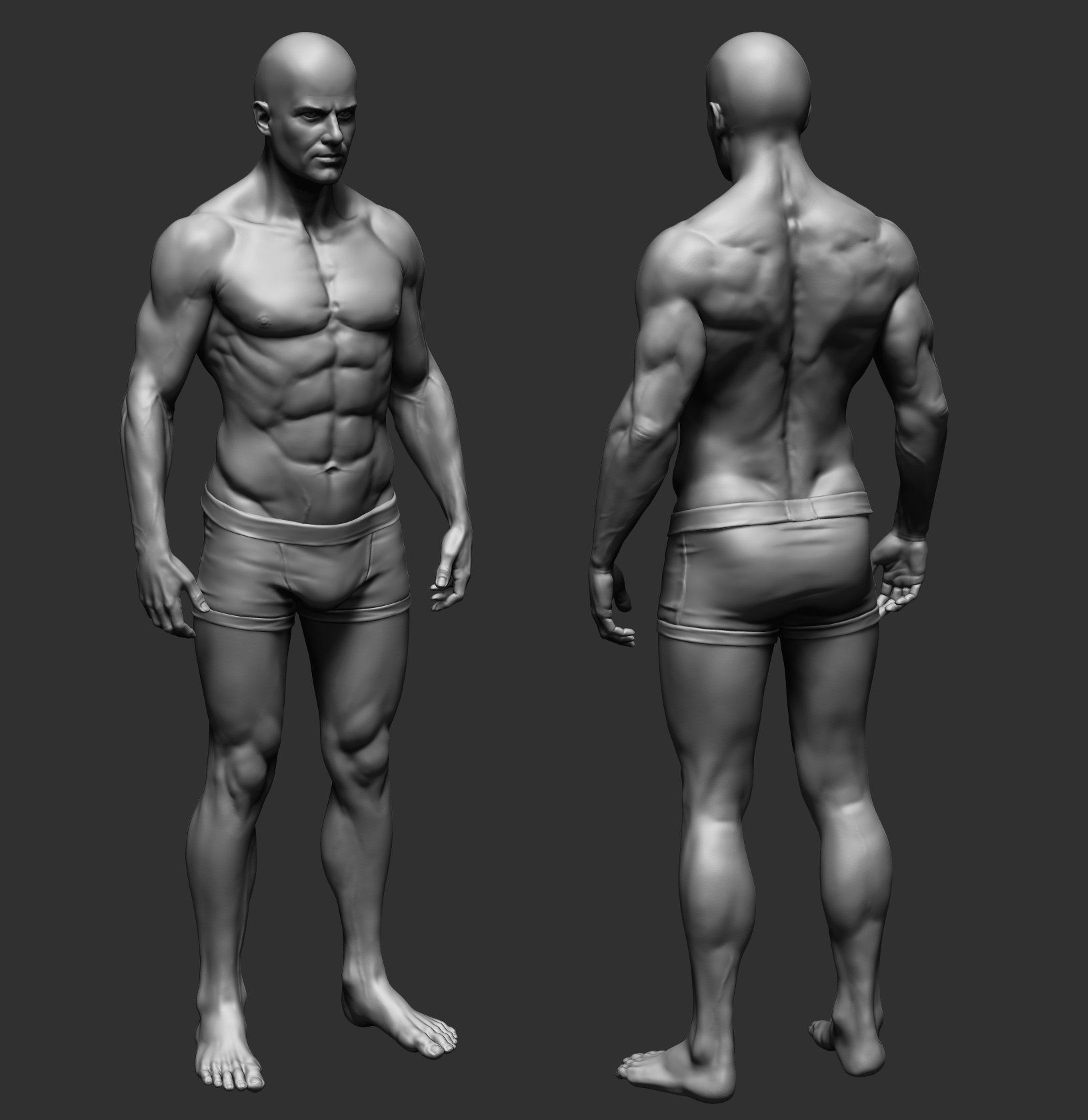 The character I\'ve done during workshop at Mold3d with Gio Nakpil ...