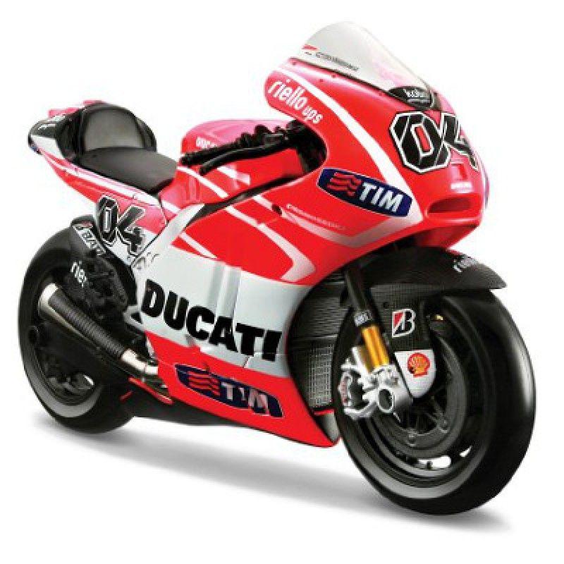 Motocicleta Miniatura GP13 Ducati 1-10 - Maisto #brinquedo