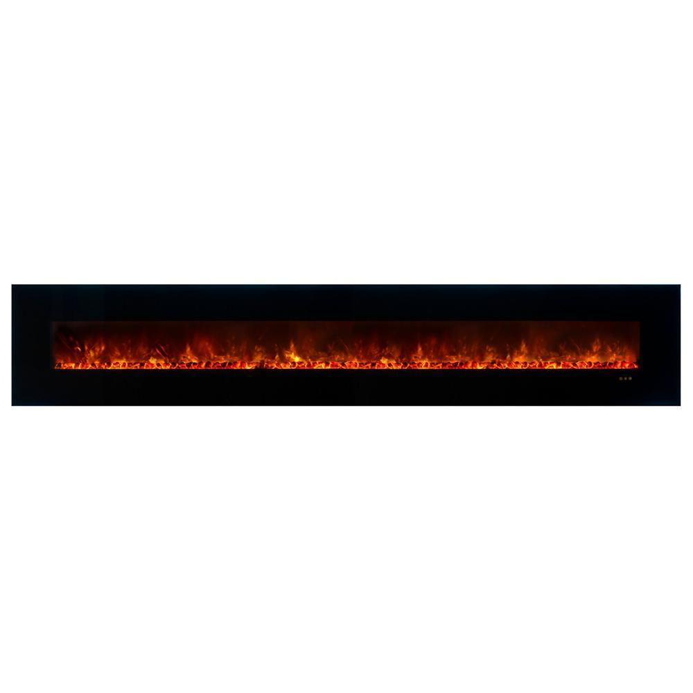 Modern flames ambiance clx
