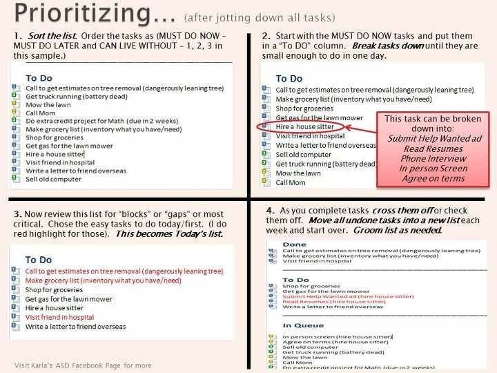 Prioritizing | Cleaning routines | Pinterest | Prioritize, Cleaning ...