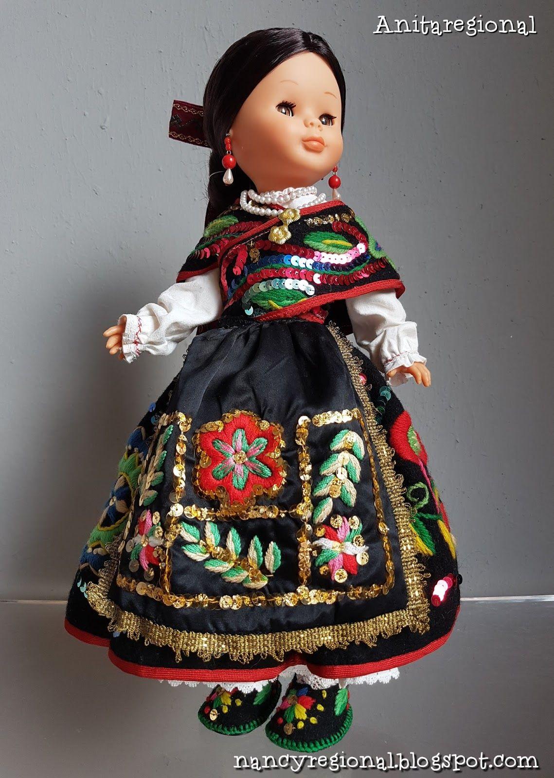 Nancy Carbajalina Traje Regional Vestido De Barbie Nancy Muñeca