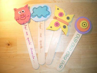 marcadores de libros  para niños