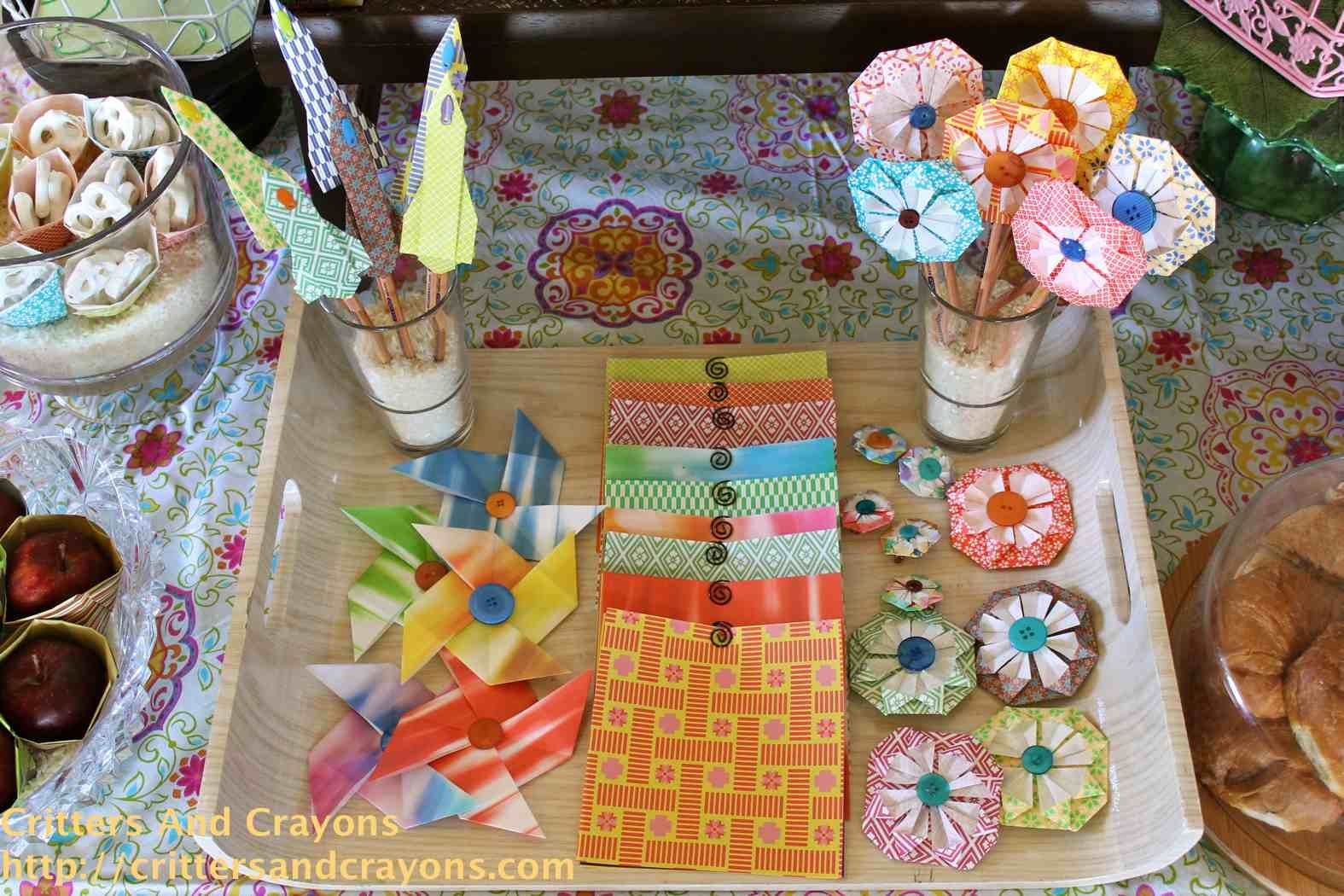 origami party for a total of $50?!! whoa! | Am Gonna Party ... - photo#21