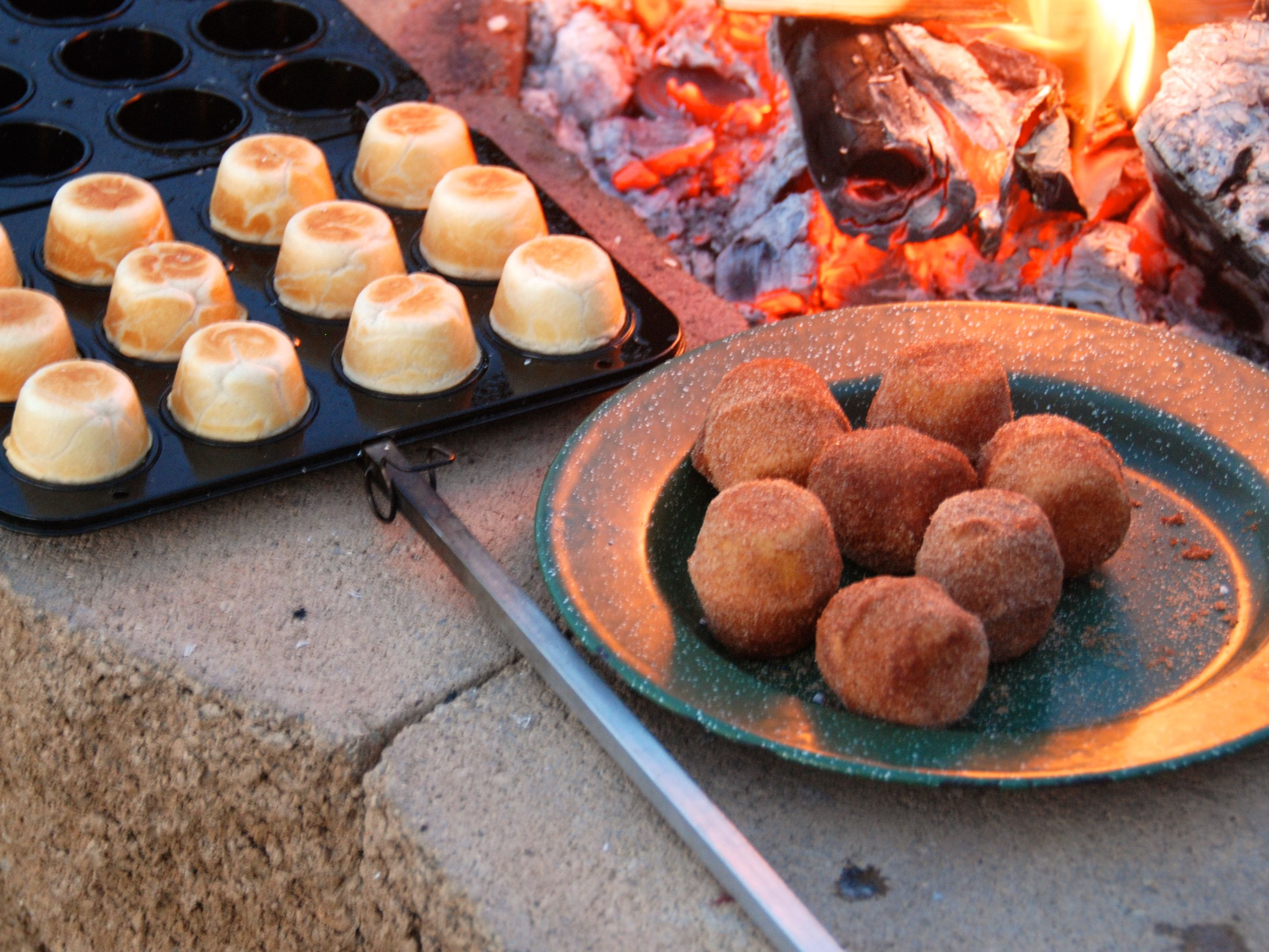 Doughies are a fun camping/grilling treat and this would be a unique Christmas gift idea for anyone who goes camping or has an outdoor fire pit.  I even make them with my nieces and nephews over the grill!  http://doughymaker.com