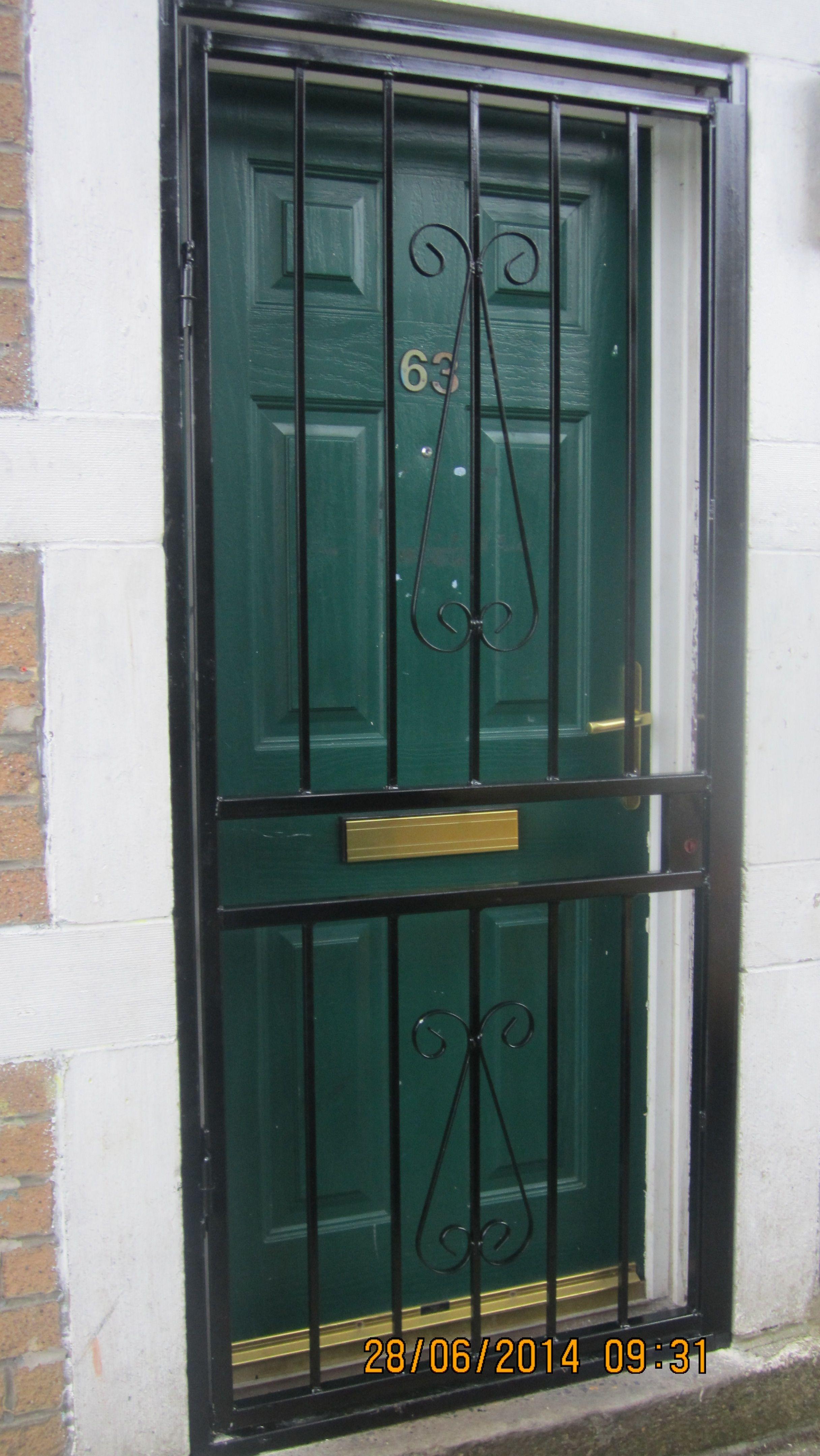 Front Door Security Grilles | http://thewrightstuff.us | Pinterest ...