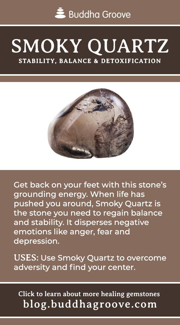 A Guide to Healing Gemstones | Balance by Buddha Groove #smokyquartz