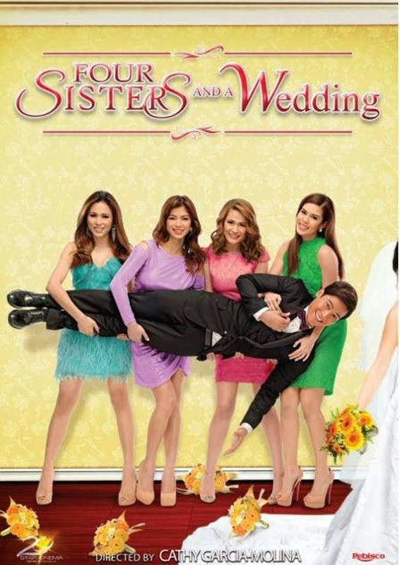 Four Sisters And A Wedding 2013 Dvdrip Xvid Thepiratebay Movie Pinoy Movies Four Sisters Wedding Movies