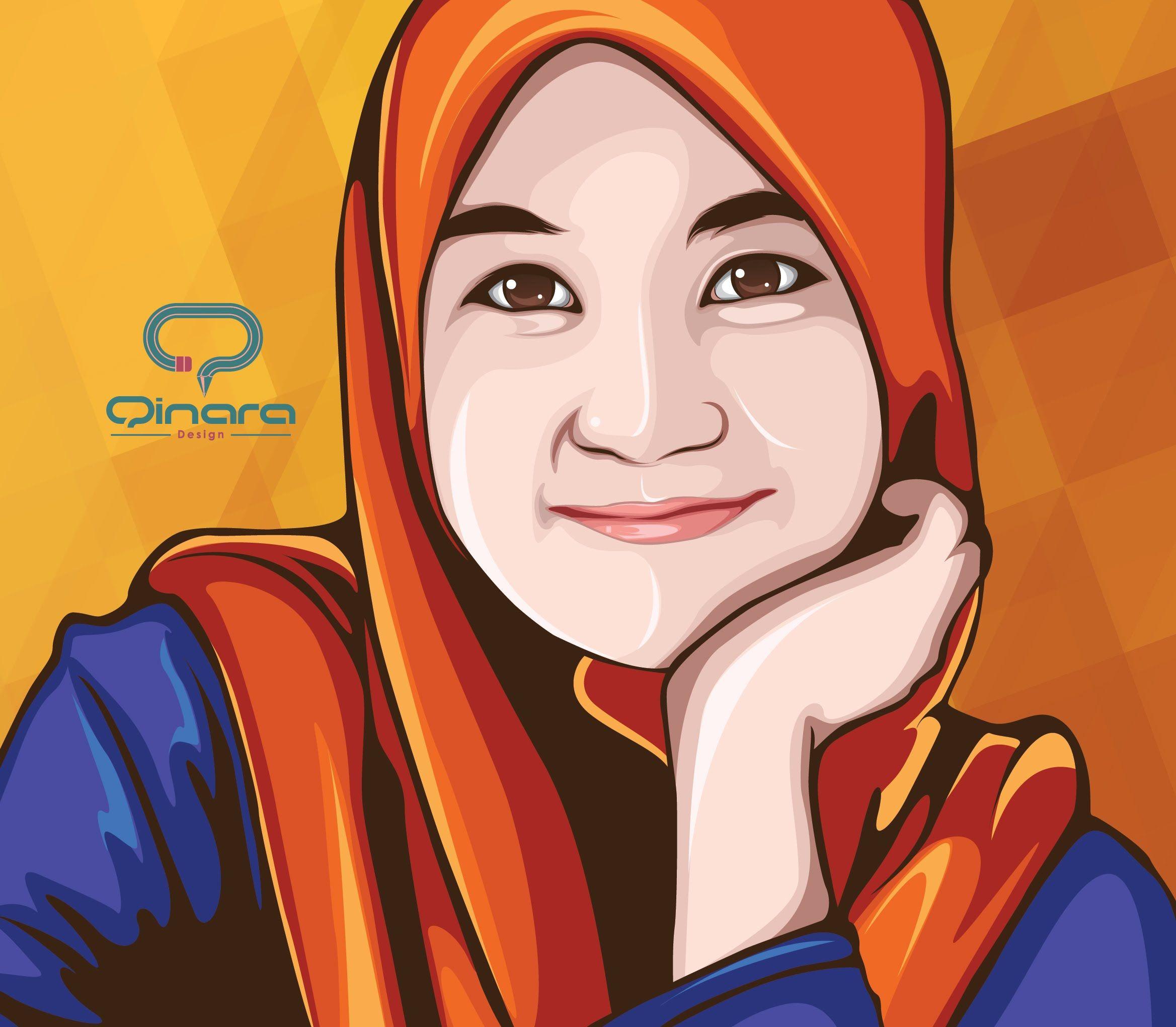 01 - Tutorial vector portrait using Adobe Illustrator _ Ainan ...