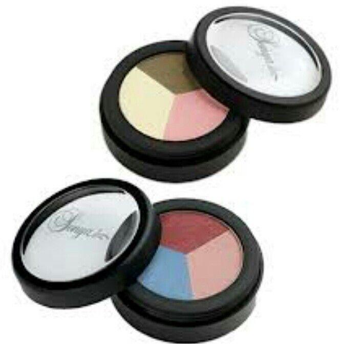 بودرة تظليل فوق العين ثلاثية الألوان عضوية بجل الصبار Aloe Makeup Makeup Healthy Skin