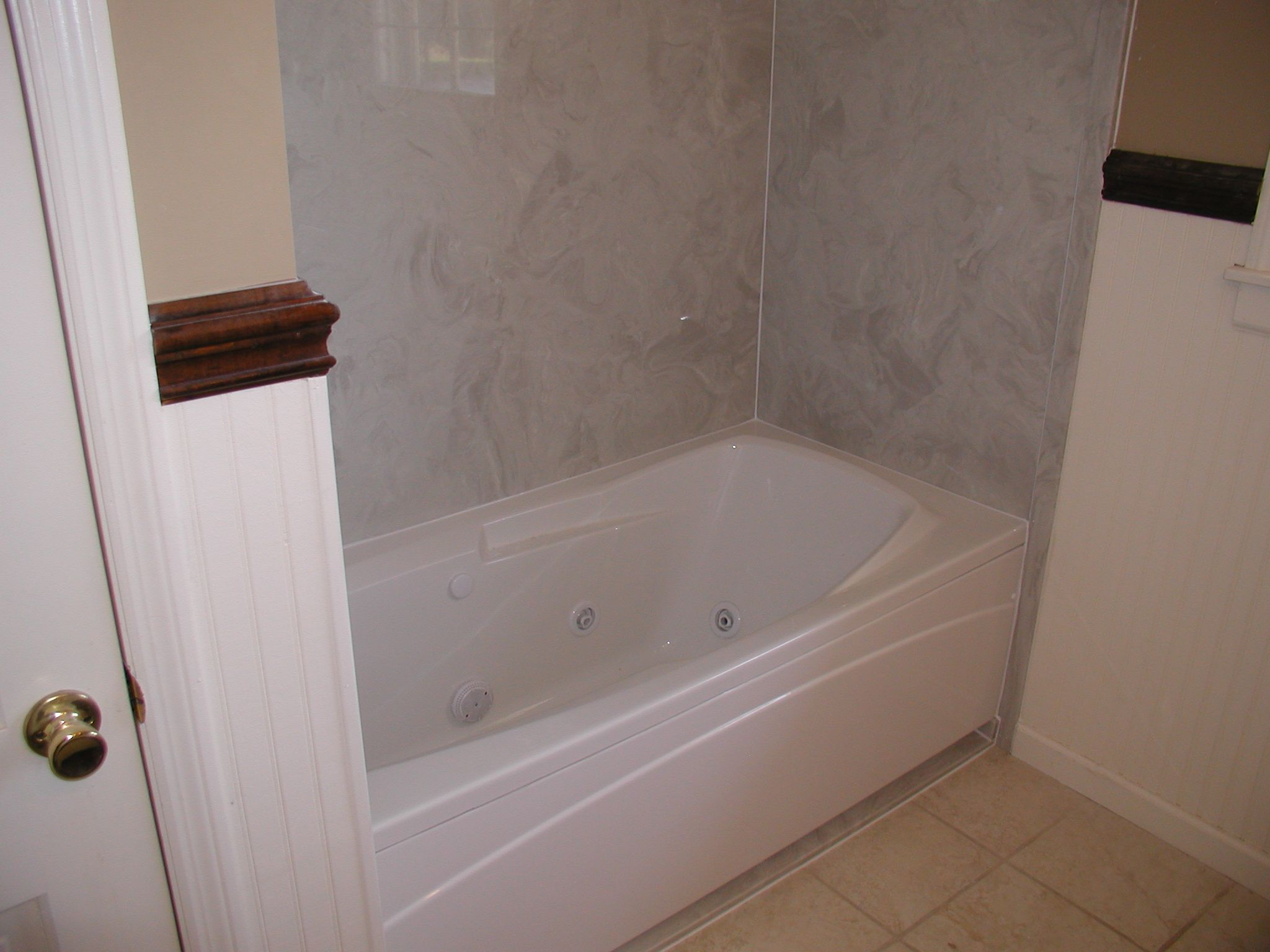 Cultured Marble Tub Surround Also Great For All Of The Houses