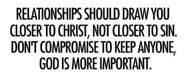 Christian dating non christian sin