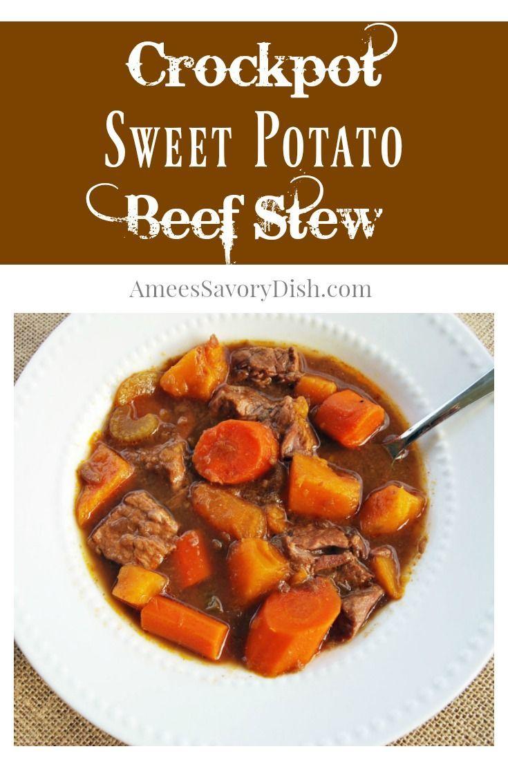 Crockpot Sweet Potato Beef Stew Recipe Beef It S What S For